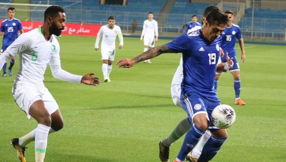 Paraguay y Arabia Saudita jugaron por la última Fecha FIFA de este 2019. (Imagen: Twitter)