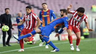La Liga de España al rojo vivo a falta de tres fechas para su culminación