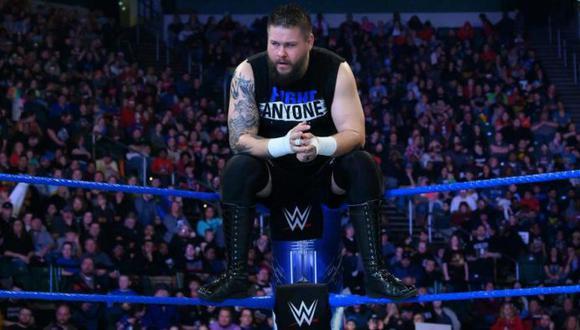 Kevin Owens reveló que un familiar suyo falleció a causa del coronavirus. (WWE)