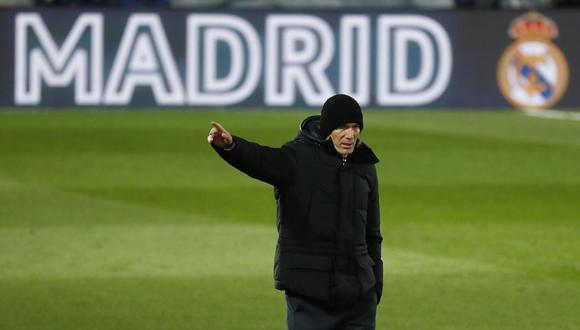 Zinedine Zidane analizó la caída de Real Madrid en la Supercopa de España. (Foto: Reuters)