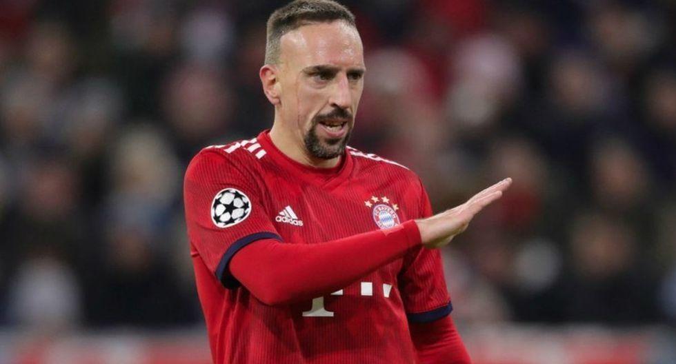 Franck Ribéry | Bayern Munich. (Getty Images)