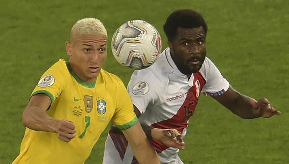 Richarlison jugará con Brasil la final de la Copa América 2021. (Foto: AFP)