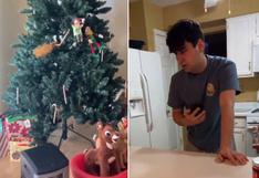 Le hizo creer a su novio que era Navidad y él le acabó pidiendo que lo llevara al hospital