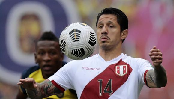 Gianluca Lapadula fue convocado a la Selección Peruana para disputar la Copa América 2021. (Foto: AFP)