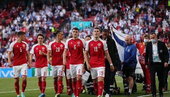 Christian Eriksen sufrió un percance durante el partido entre Dinamarca y Finlandia por la Euro (Foto: Getty Images).