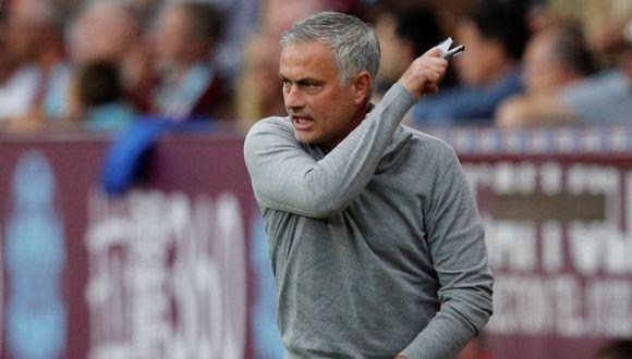 José Mourinho ganó tres trofeos con Manchester United. (Foto: Reuters).