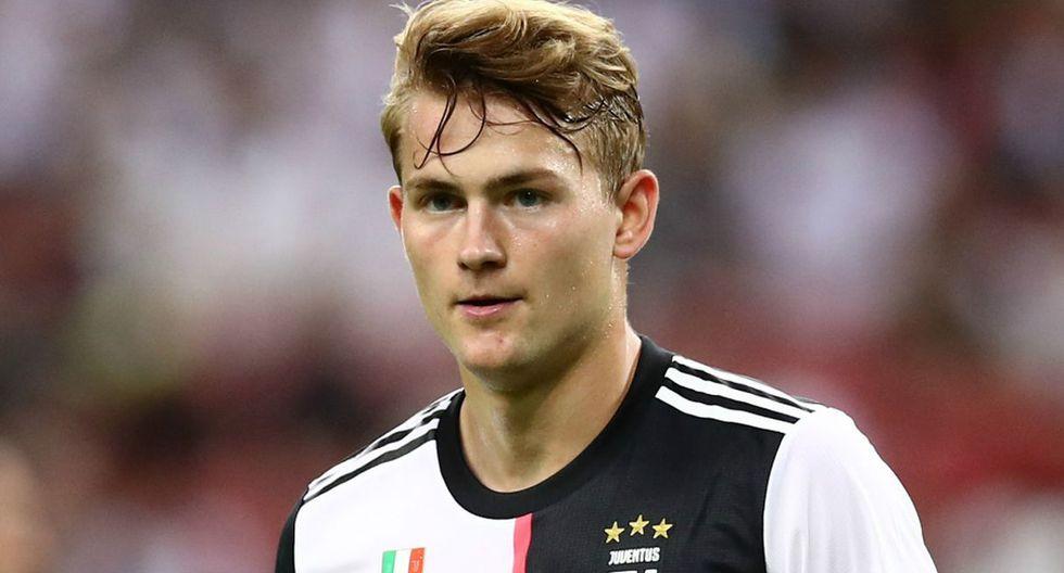 Matthijs de Ligt | Juventus | 85 millones de euros. (Getty Images)