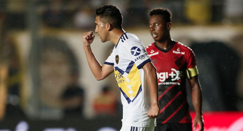 Boca Juniors venció 3-1 a Atlético Paranaense en San Juan por el Torneo de Verano 2020. (Foto: Twitter)