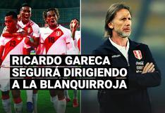Juan Carlos Oblitas aclaró el futuro de Ricardo Gareca al mando de la selección peruana