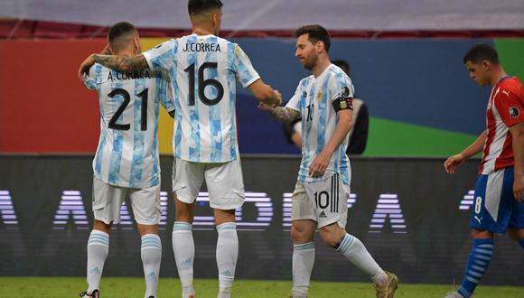 Argentina es líder del Grupo A con 7 puntos y en la última fecha se enfrentará con Bolivia (Foto: AFP)