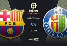 LaLiga, Barcelona vs Getafe EN VIVO: canales y a qué hora ver