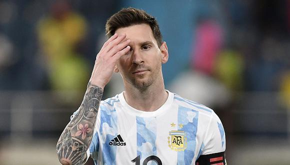 Messi fue titular en los dos últimos partidos de Argentina en Eliminatorias. (Getty)