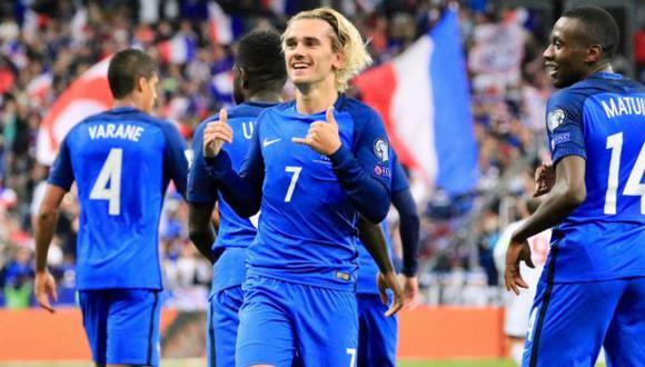 Francia debutará en el Mundial Rusia 2018 ante Australia el 16 de junio.