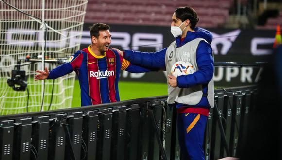 Lionel Messi marcó dos goles en el triunfo de Barcelona ante Getafe por LaLiga. (Twitter Barcelona)
