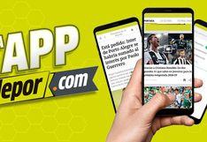 Depor renovó su App para traer toda la emoción del fútbol al alcance de tu mano