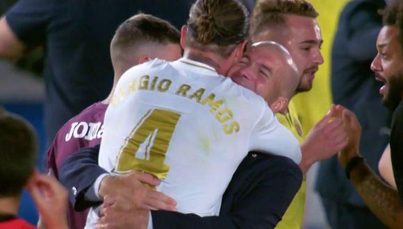 Así celebró el Real Madrid el título 34 en LaLiga Santander. (Foto: Agencias)