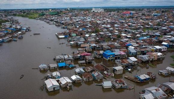 Inundaciones en Iquitos en marzo. (Foto: Rodrigo Abd)