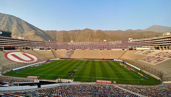 Así luce el Monumental para el Universitario vs. Independiente del Valle. (Foto: Depor)