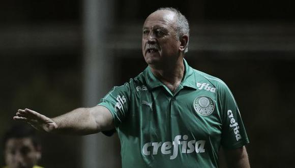 Luiz Felipe Scolari solo ha dirigido a clubes brasileños a nivel sudamericano. (Foto: AFP)