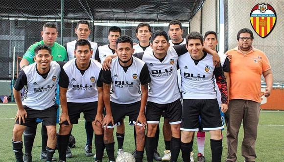 La Peña Valencia Perú cuenta con más de 60 miembros. (Foto: Difusión)