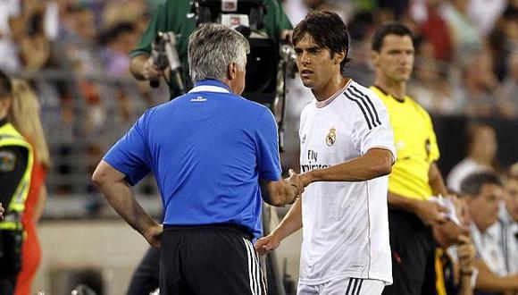Kaká se mantuvo por cuatro temporadas en Real Madrid. (Foto: Difusión)