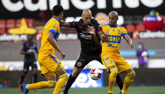 Tigres y Tijuana repartieron puntos por la tercera fecha del Torneo Guard1anes 2020.
