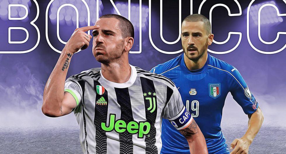 Leonardo Bonucci ha pasado por el Inter, Treviso, Pisa, Bari, AC Milan y Juventus. (Foto: Depor)