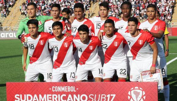 La Selección Peruana Sub 17 debía ser local en el último Mundial, pero perdió la sede. (Foto: ANDINA/Juan Carlos Guzmán Negrini)