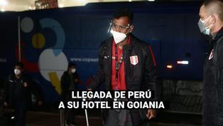 Copa América 2021: Selección peruana llega a su hotel de concentración en Goiania