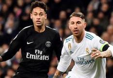 De rivales a amigos en el vestuario: Neymar pidió a la directiva del PSG el fichaje de Sergio Ramos