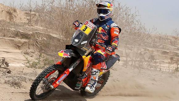 Toby Price ganó su segundo Rally Dakar. (Reuters)