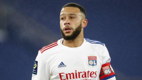 Memphis Depay acaba contrato con el Lyon al final de temporada. (Foto: Reuters)
