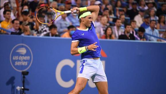 Rafael Nadal salió del top 3 del ranking ATP por primera vez en cuatro años. (Citi Open)
