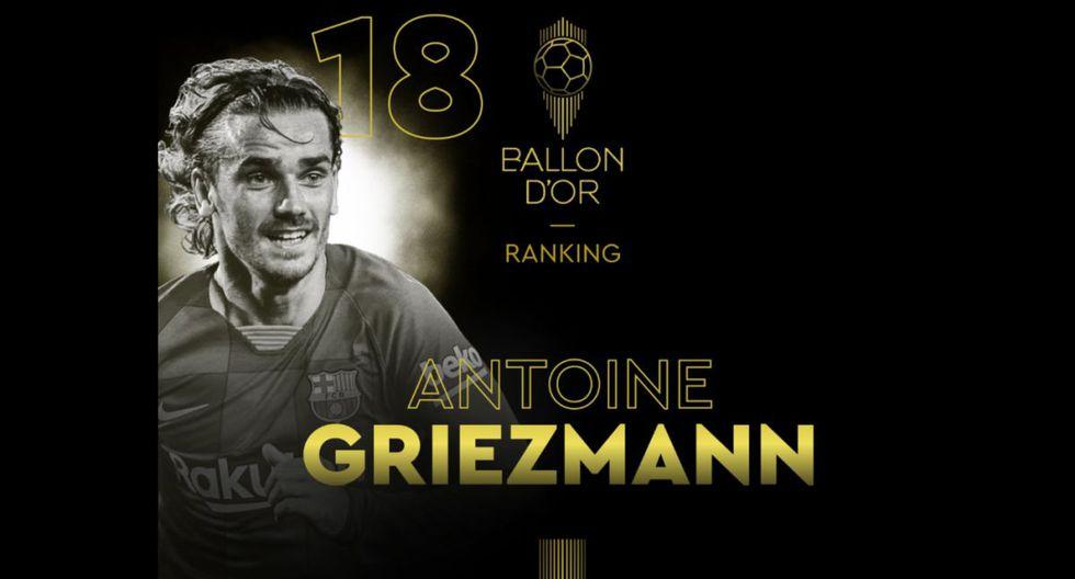 Antoine Griezmann   Barcelona. (Foto: @francefootball)