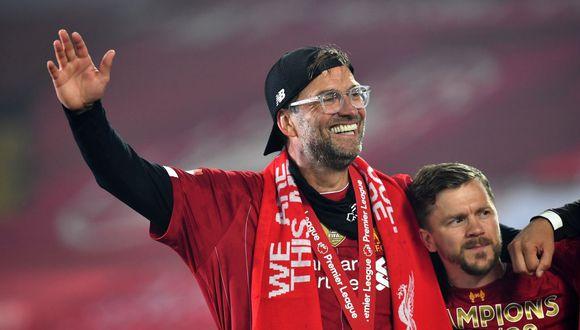 Jurgen Klopp consiguió su segundo título con Liverpool. (Foto: AFP)