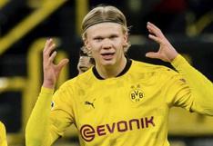 """""""No existe y no se espera"""": Dortmund niega ofertas por Haaland de 175 millones"""