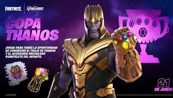 Fortnite: cómo conseguir el skin de Thanos en el Battle Royale. (Foto: Epic Games)