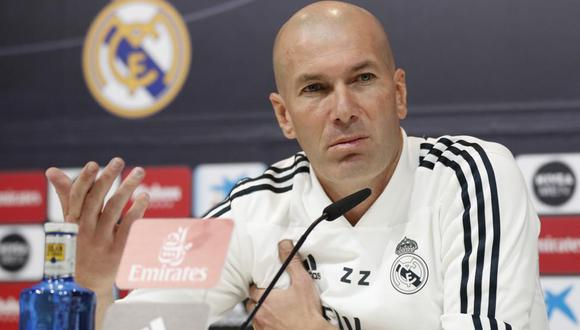 Zidane volvió al Real Madrid en el 2019 tras su primera etapa entre 2016 y 2018. (Foto: AFP)