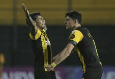 Se mete en la pelea: Peñarol venció 3-0 a Colo Colo por Copa Libertadores