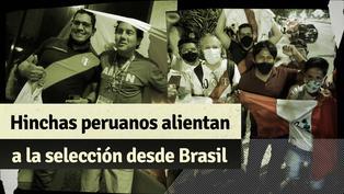 Perú vs. Brasil: hinchas alentaron a la selección en los exteriores del hotel de concentración