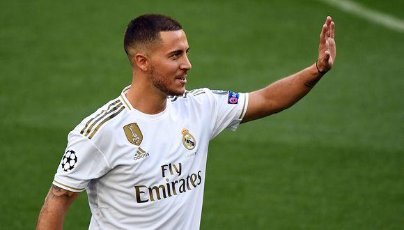 Eden Hazard, el último gran fichaje 'galáctico' del Real Madrid la temporada pasada.  (Foto. AFP)