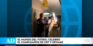 Mira cómo festejaron CR7 y Neymar sus cumpleaños