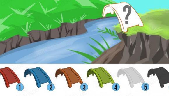 Escoge un color de puente y descubre cómo eres en algunas situaciones complejas de la vida. (Difusión)