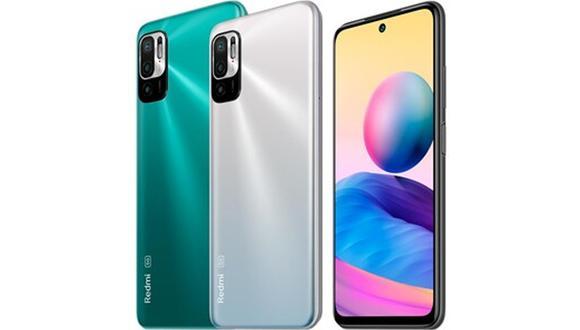 Conoce todas las características del nuevo celular 5G en Perú: el Xiaomi Redmi Note 10 5G. (Foto: Xiaomi)
