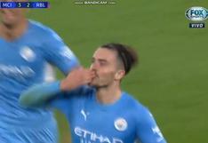 ¿Justifica los 120 millones? El golazo de Grealish para el 4-2 del Manchester City vs. Leipzig [VIDEO]