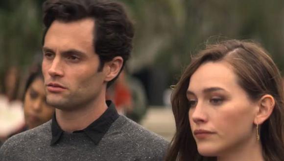 You: el inesperado final de Joe y Love en la temporada 2, según Penn Badgley y Victoria Pedretti (Foto: Netflix)