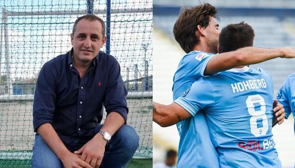 Nicolás López resaltó grandeza de Sporting Cristal en Sudamérica. (Fotos: Agencias)