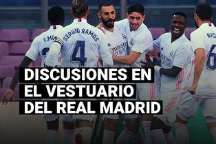 Sergio Ramos y su bronca con otro ícono del Real Madrid tras el triunfo ante el Barcelona