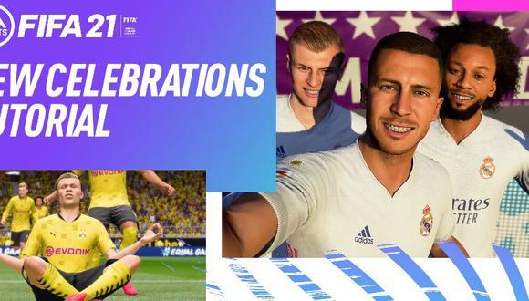 FIFA 21 compartió este tutorial para hacer las nuevas celebraciones