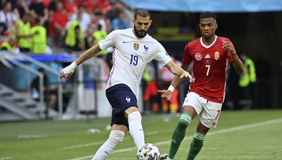 Francia suma cuatro puntos en su grupo de la Eurocopa. (Foto: AP)